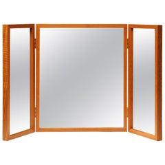 Danish Modern Teak Folding Mirror
