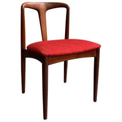 "Danish Modern Teak ""Juliane"" Chair by Johannes Andersen"