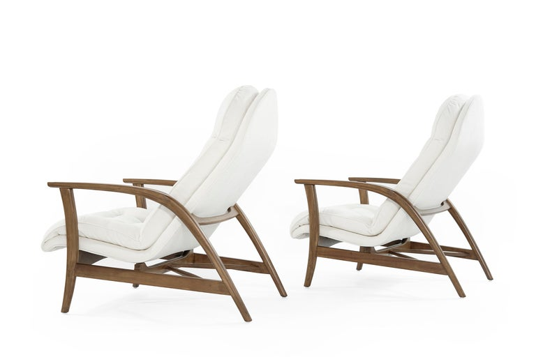 20th Century Danish Modern Teak Lounge Chairs For Sale