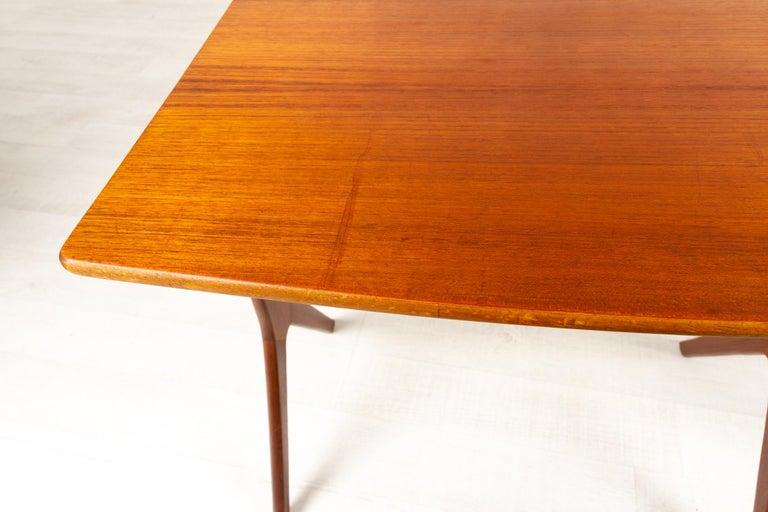 Danish Modern Teak Nesting Tables by Johannes Andersen for CFC, 1960s For Sale 7