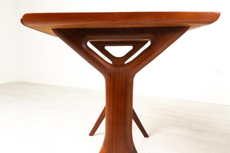 Danish Modern Teak Nesting Tables by Johannes Andersen for CFC, 1960s For Sale 11