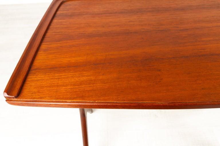 Danish Modern Teak Nesting Tables by Johannes Andersen for CFC, 1960s For Sale 3