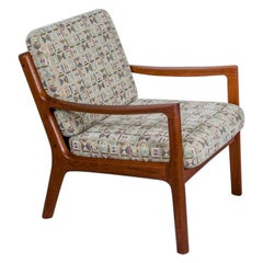 "Danish Modern Teak ""Senator"" Seat by Ole Wanscher for France & Son"