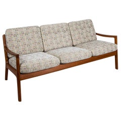 "Danish Modern Teak ""Senator"" Sofa by Ole Wanscher for France & Son"