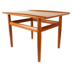 Danish Modern Teak Side Table by Grete Jalk for Glostrup Møbelfabrik, 1960s