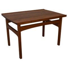 Danish Modern Teak Side Table by Larsen Saffle Design