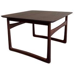 Danish Modern Teak Side Table by Peter Hvidt & Orla Mølgaard-Nielsen