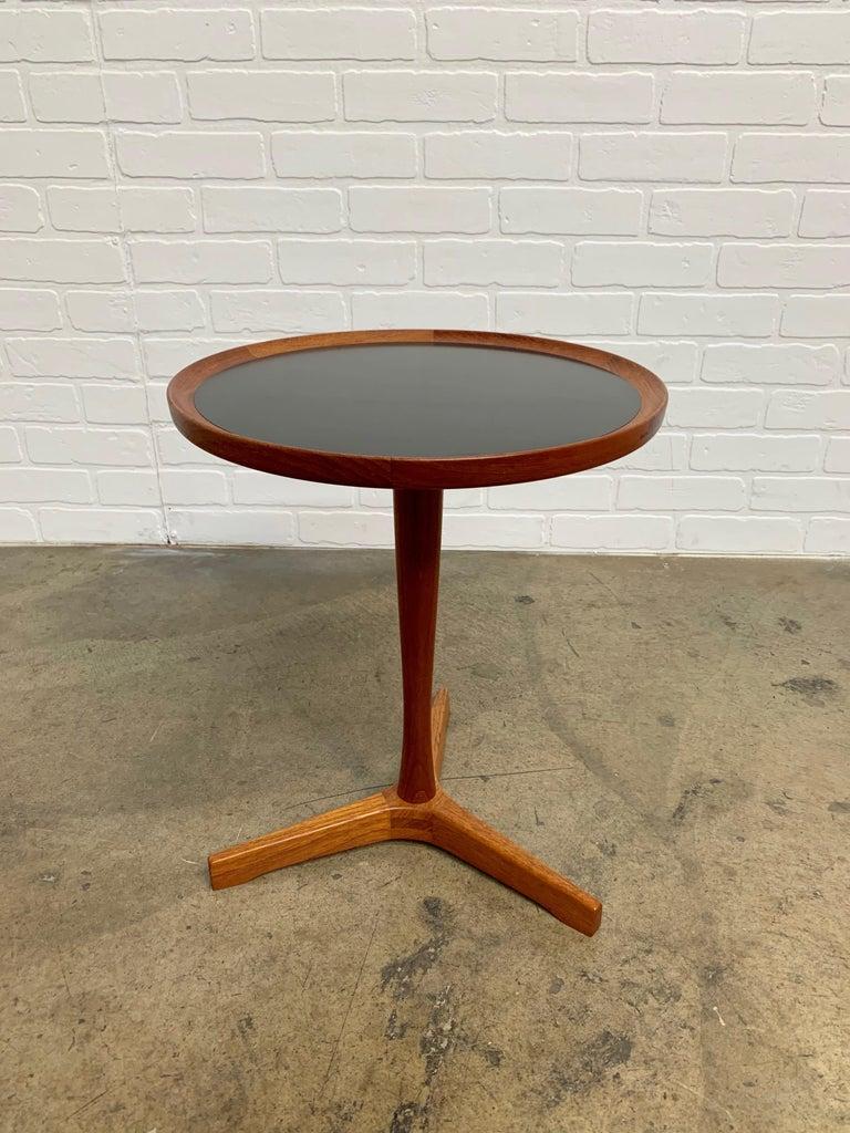 Scandinavian Modern Danish Modern Teak Side Table Designed by Hans Andersen For Sale