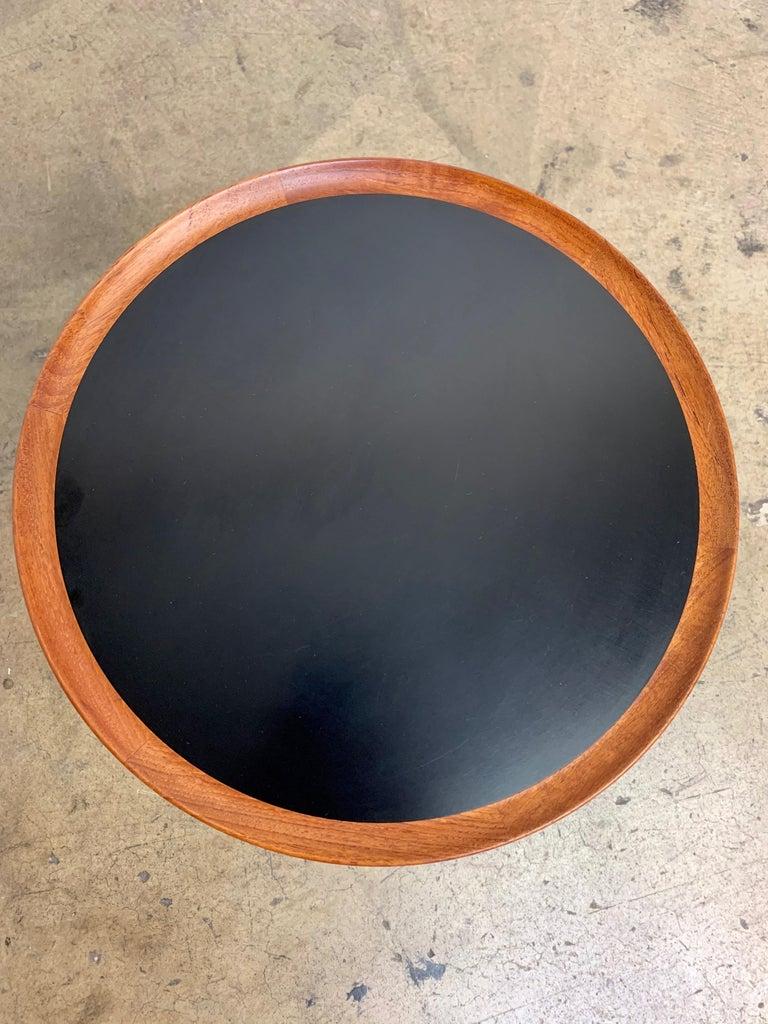 Danish Modern Teak Side Table Designed by Hans Andersen For Sale 3