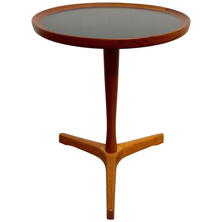 Danish Modern Teak Side Table Designed by Hans Andersen For Sale