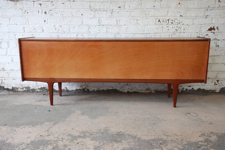 Danish Modern Teak Sideboard Credenza by Younger For Sale at 1stdibs