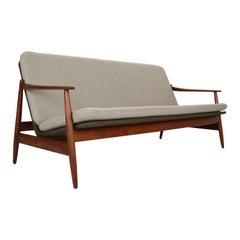 Danish Modern Teak Sofa by Poul M. Volther for Frem Rojle, 1960, Denmark