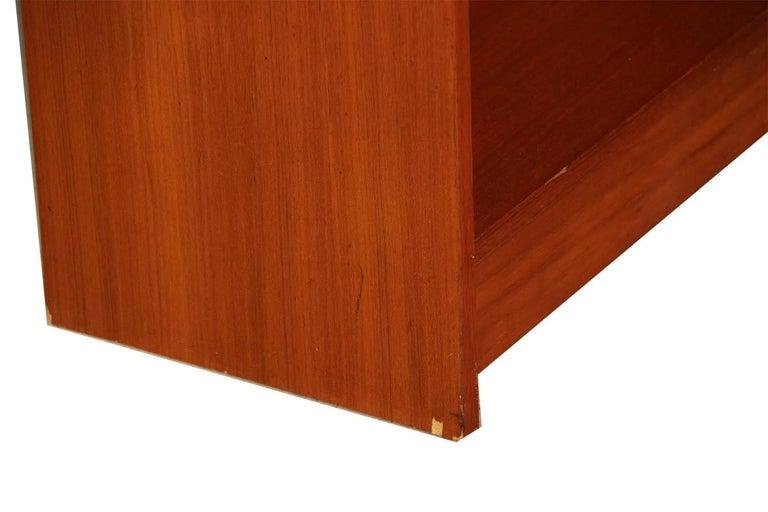 Danish Modern Teak Tall Bookcase 1