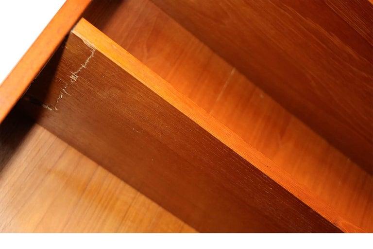 Danish Modern Teak Tall Bookcase 2