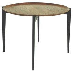 Danish Modern Teak Tray Table in the Style of Willumsen and Engholm