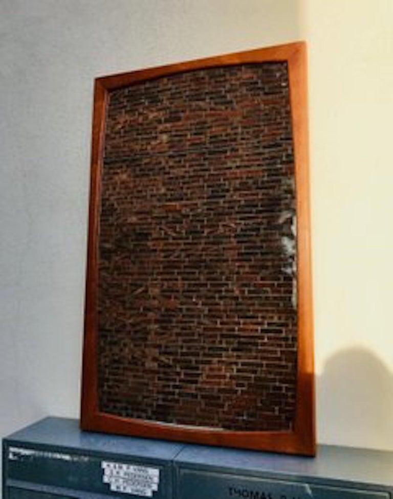 Danish Modern Teak Wall Mirror from Aksel Kjersgaard, 1960s In Good Condition For Sale In Esbjerg, DK