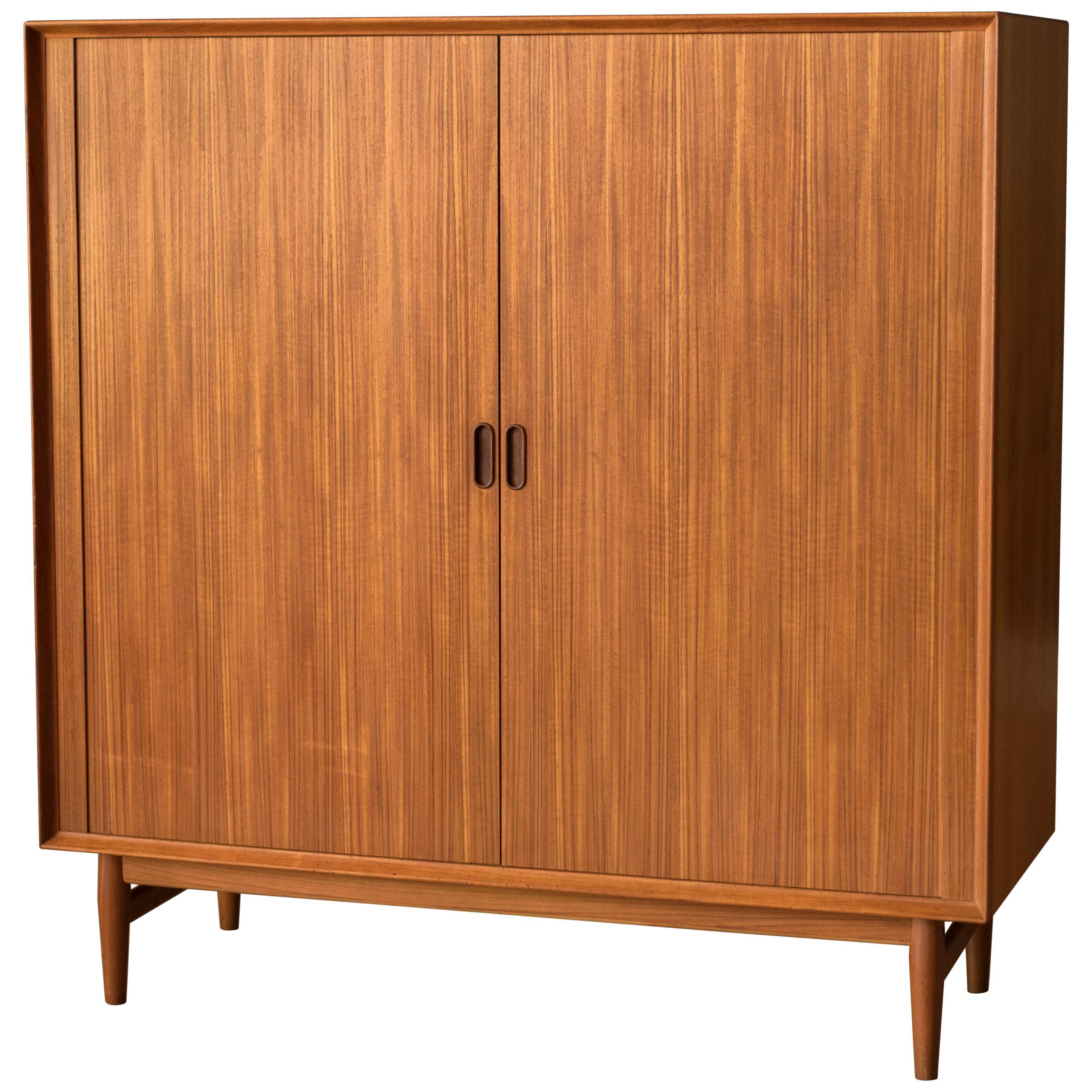 Danish Modern Teak Wardrobe Dresser Chest by Arne Vodder for Sibast Møbler