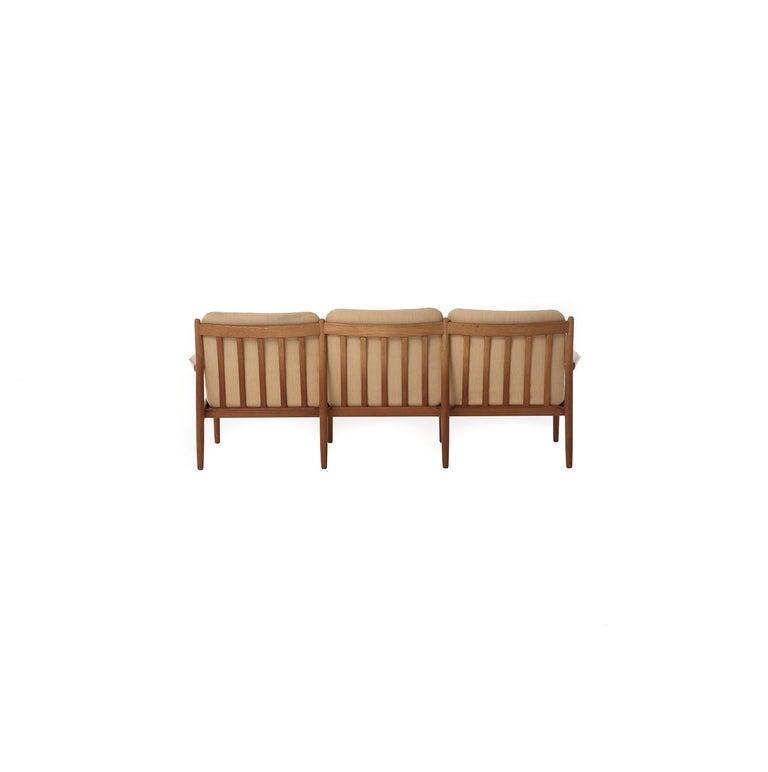 Danish Modern Three-Seat Sofa In Good Condition For Sale In Minneapolis, MN