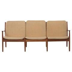 Danish Modern Three-Seat Sofa