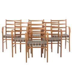 Danish Modern Transitional Viggo Sten Møller Dining Chairs