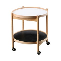 Danish Modern Tray Table in Oak by Hans Bølling