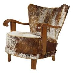 Danish Modern Tubby Armchair