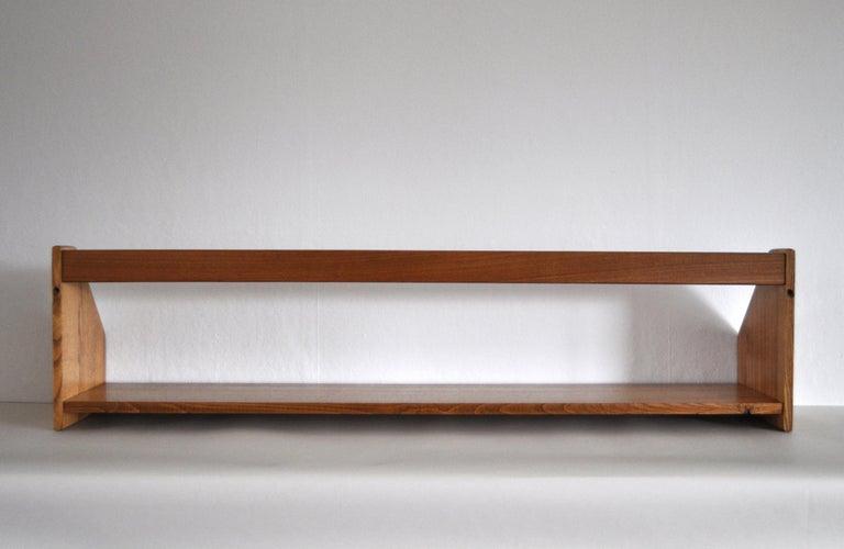 Danish Modern Wall Bookshelf in Oak by Hans J. Wegner, 1950s For Sale 7