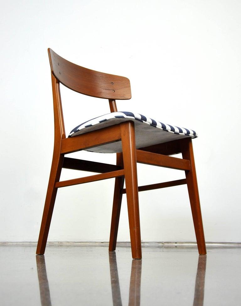 Danish Modern Wegner Style Teak Chair 6