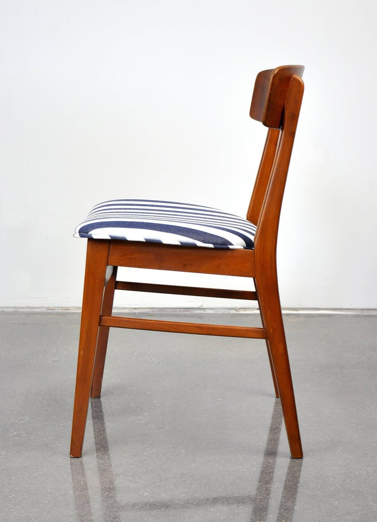 Danish Modern Wegner Style Teak Chair In Good Condition In Miami, FL