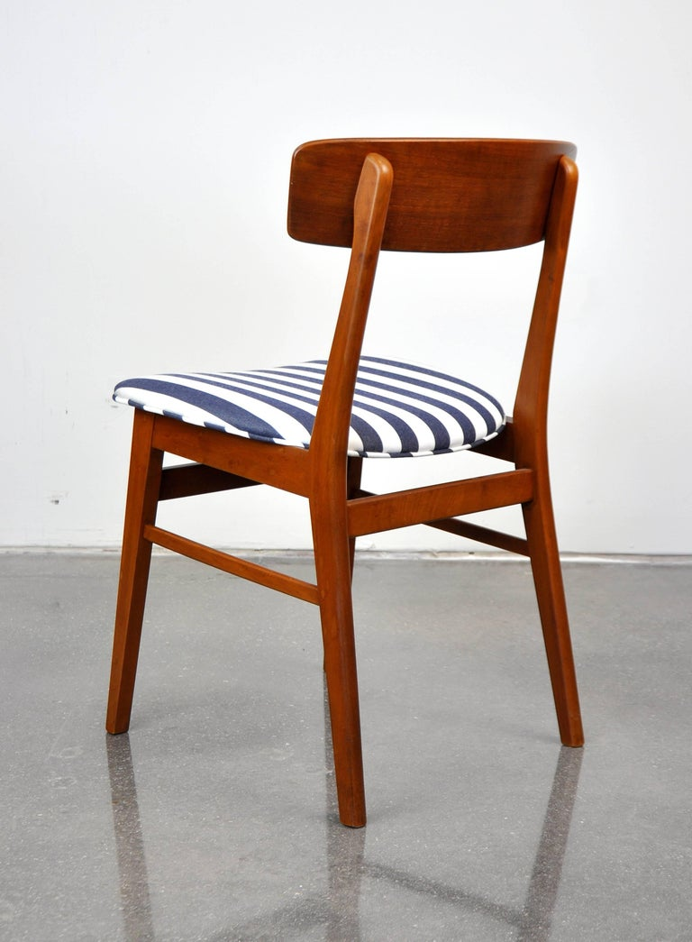 Mid-20th Century Danish Modern Wegner Style Teak Chair