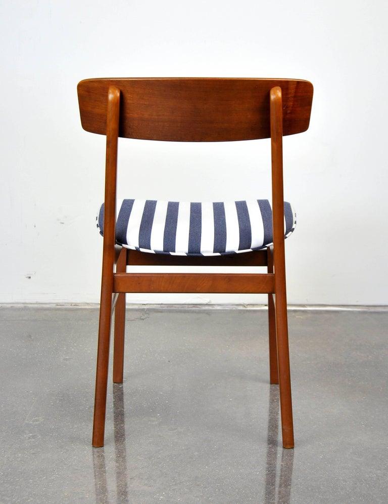 Danish Modern Wegner Style Teak Chair 1