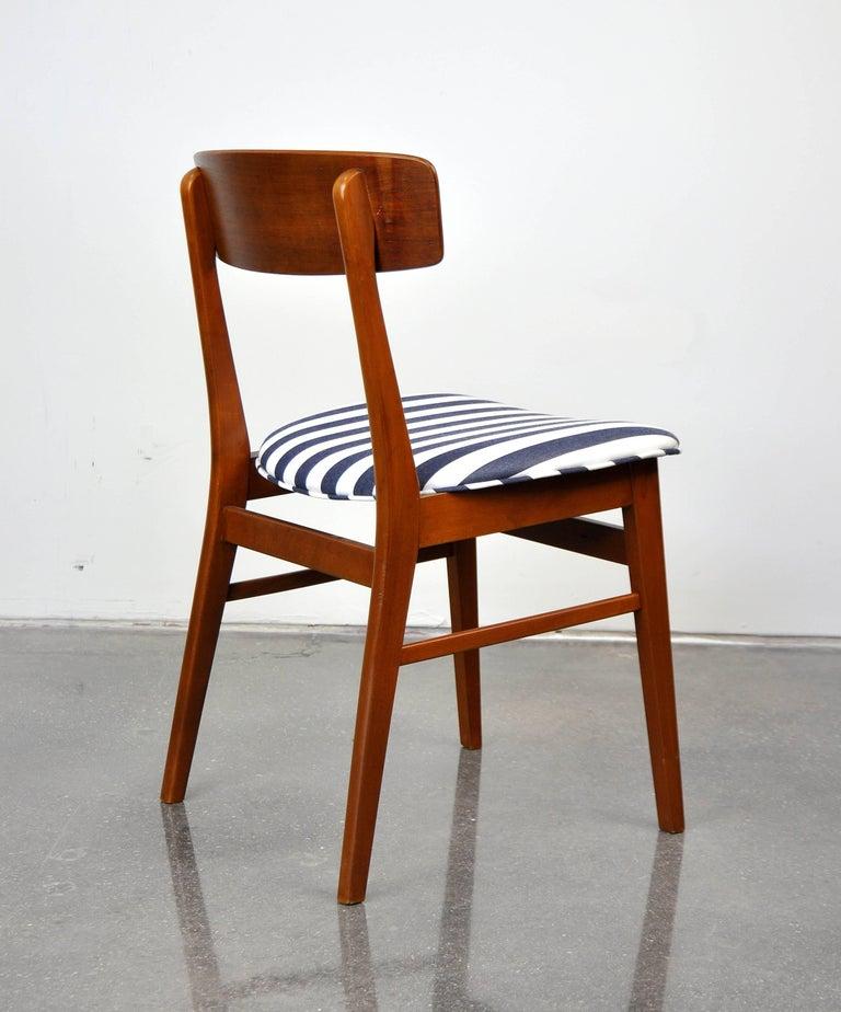 Danish Modern Wegner Style Teak Chair 2