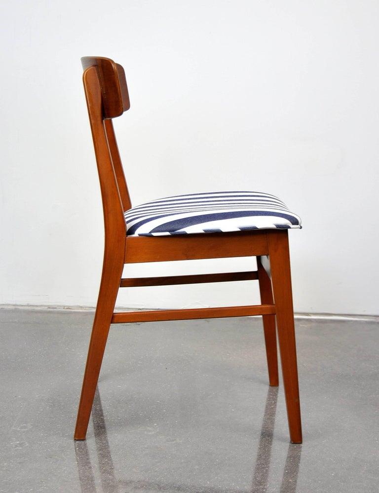 Danish Modern Wegner Style Teak Chair 3