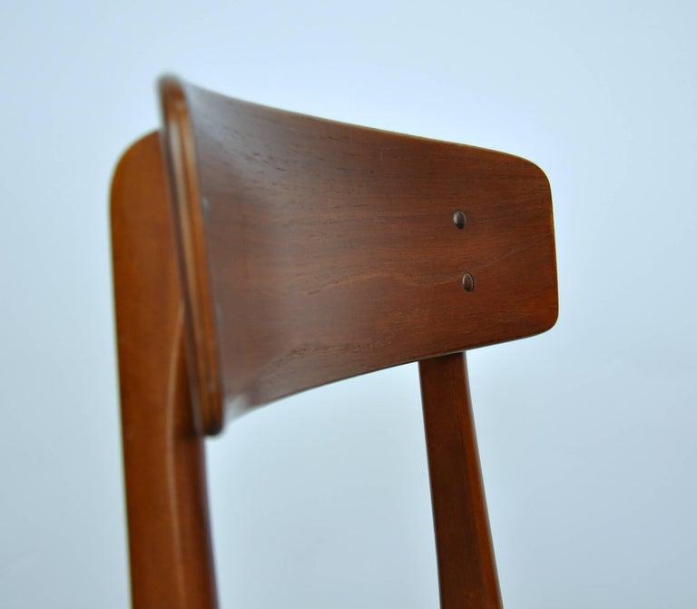Danish Modern Wegner Style Teak Chair 4