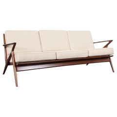"Danish Modern ""Z"" Sofa by Poul Jensen for Selig"
