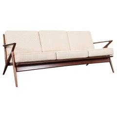 "Danish Modern ""Z"" Sofa by Poul Jensen for Selig"