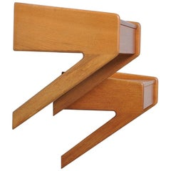 Danish Modernist Nightstands or Shelves