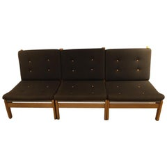 Danish Modular Lounge Chairs by Poul Volther for FDB, 1978, Set of 3