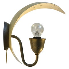 Danish Moon Wall Sconce by Fog & Mørup, 1930s