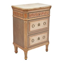 Danish Neoclassical Commode with Greek Key Frieze after Harsdorf, circa 1820