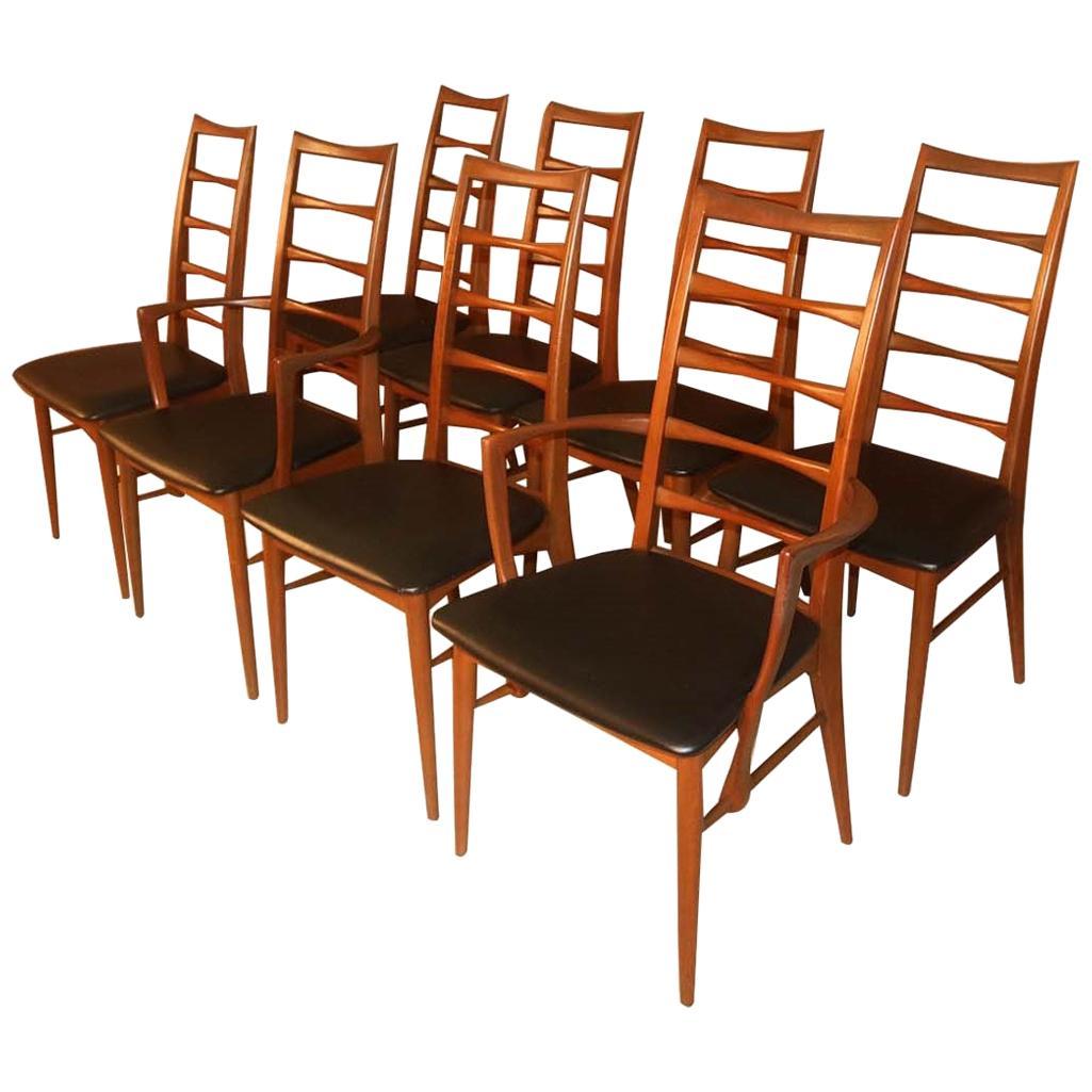 Danish Niels Koefoed for Koefoeds Hornslet Lis Chairs