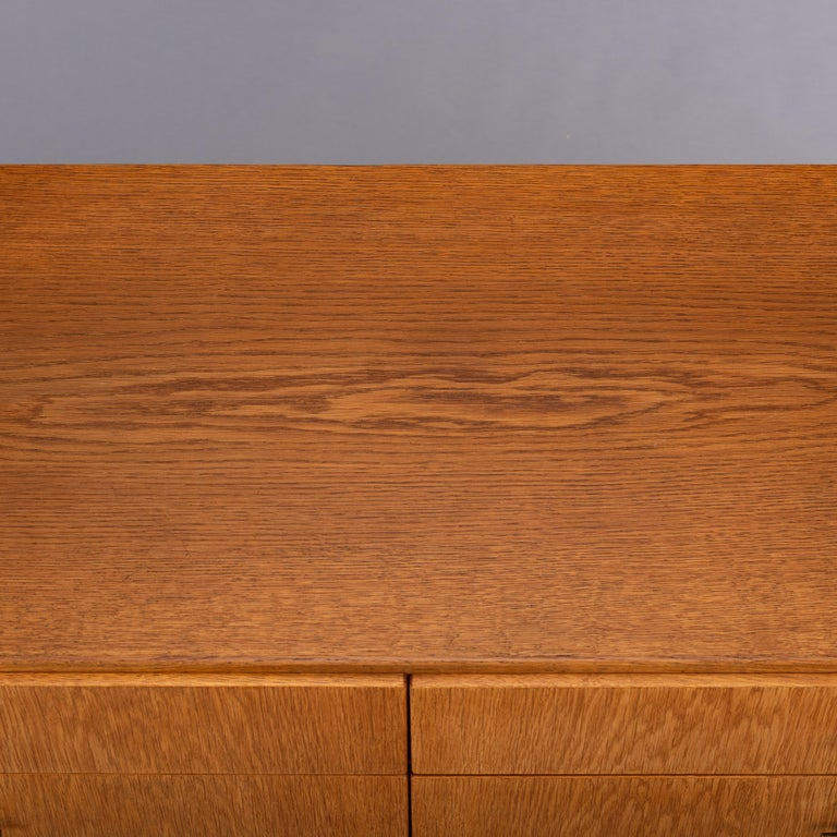 Danish Oak Chest of Drawers No. 234 by Børge Mogensen for FDB Mobler, 1960s For Sale 5