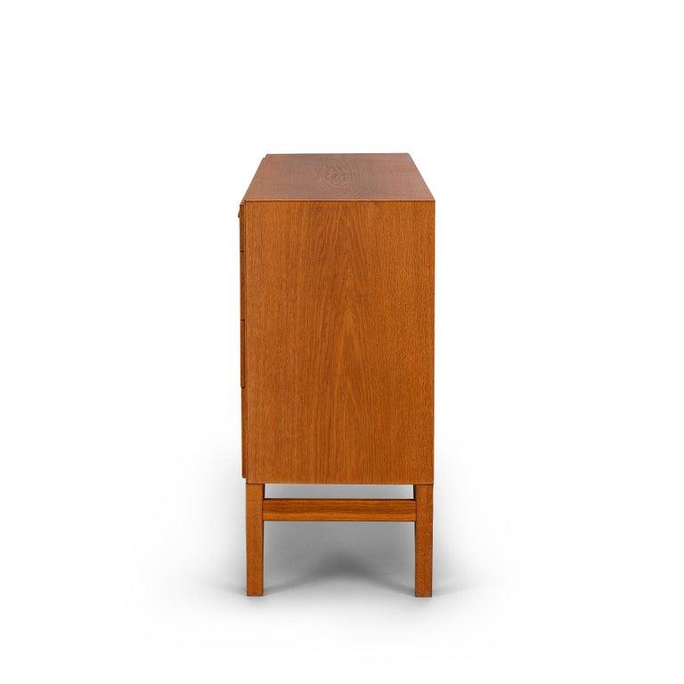 20th Century Danish Oak Chest of Drawers No. 234 by Børge Mogensen for FDB Mobler, 1960s For Sale