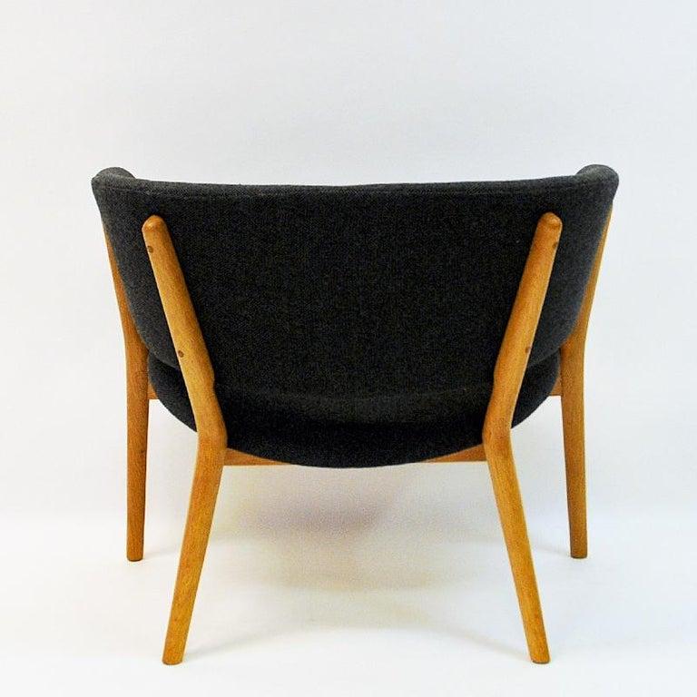 Mid-20th Century Danish Oak Easy Chair Mod ND83 by Nanna Ditzel, Denmark, 1950's For Sale