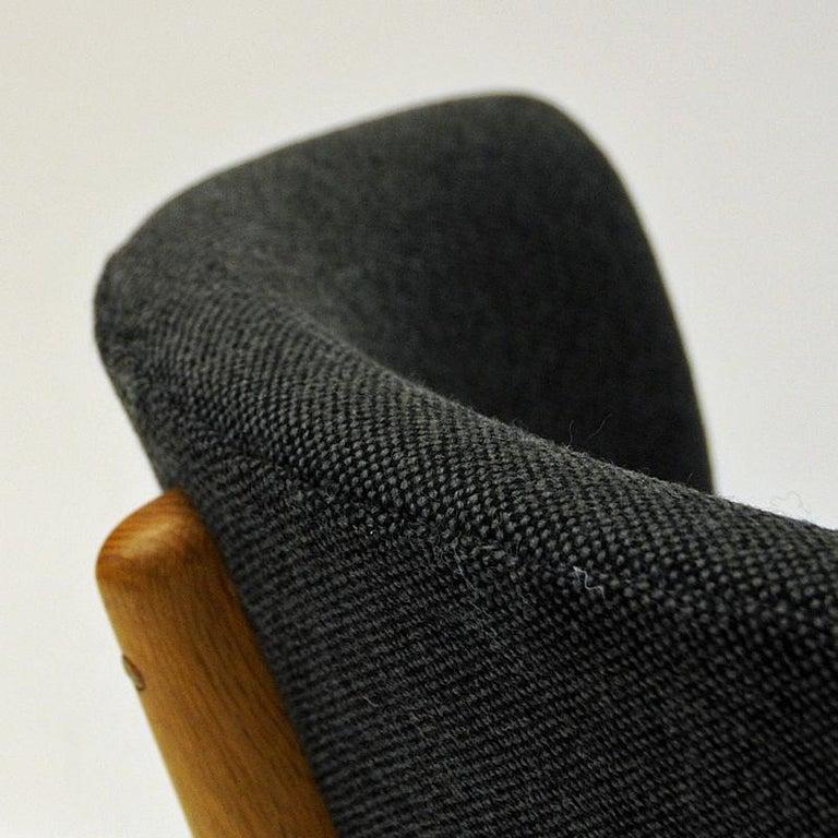 Danish Oak Easy Chair Mod ND83 by Nanna Ditzel, Denmark, 1950's For Sale 2