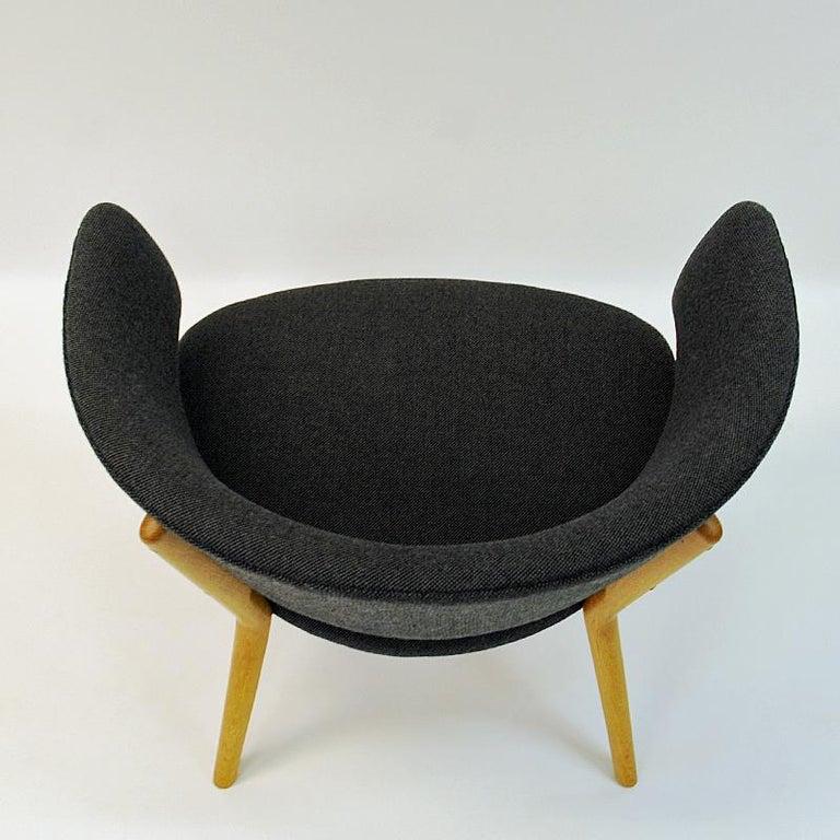 Danish Oak Easy Chair Mod ND83 by Nanna Ditzel, Denmark, 1950's For Sale 3