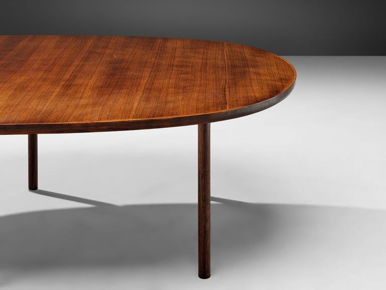 Mid-20th Century Danish Oval Dining Table