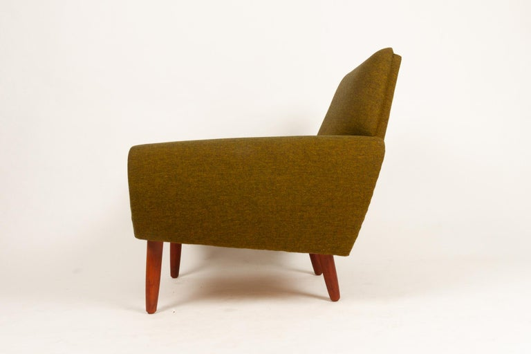 Danish Pair of Lounge Chairs by Kurt Østervig, 1960s For Sale 5