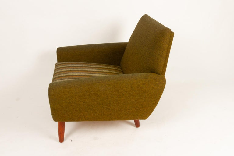 Danish Pair of Lounge Chairs by Kurt Østervig, 1960s For Sale 7