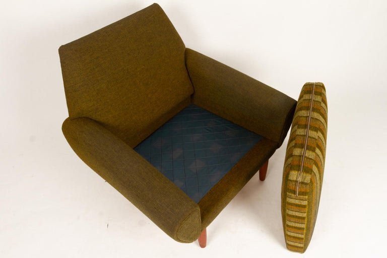 Danish Pair of Lounge Chairs by Kurt Østervig, 1960s For Sale 10